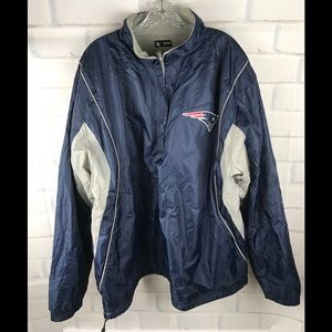 NFL Apparel Patriots Reversible Jacket 2XL